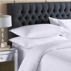 Egyptian Cotton style Stripe Duvet 4 Pcs Bedsheet Set