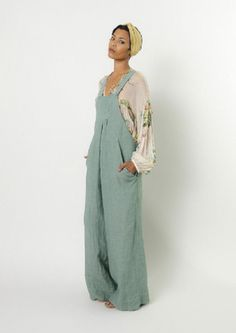 fab - love those linen overalls