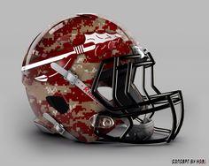 Sorry FSU, no. It looks like my mom's bowling ball. Football Helmet Design, College Football Helmets, College Football Season, Football Cleats, Football 101, Collage Football, Florida State Football, Florida State University, Florida State Seminoles