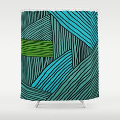 Modern Shower Curtain Contemporary Shower Curtain by thegretest, €79.85