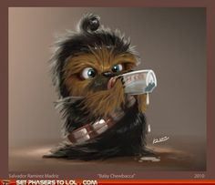 Baby Chewy!