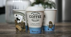 Auckland Coffee Festival cups