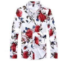 Miami Roses Button Up Shirt Exclusive Onyx Hearts shirt.