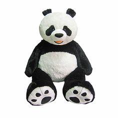 Hugfun, Oso panda de peluche gigante de 134cm - No. de item: 721784