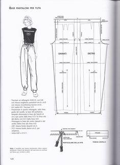 pants Sewing Pants, Sewing Clothes, Diy Clothes, Dress Sewing Patterns, Clothing Patterns, Kleidung Design, Modelista, Pants Pattern, Fashion Sewing