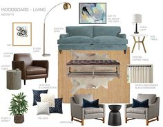 A Modern Eclectic Family Room – Emily Henderson Design A Modern Eclectic Family Room A Nuetral Eclectic Living Room Living Room Modern, My Living Room, Living Room Designs, Home And Living, Living Room Decor, Interior Design Blogs, Eclectic Living Room, Living Room Interior, Interior Livingroom