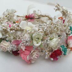 Bespoke Design, Bridal Accessories, Floral Wreath, Crown, Wreaths, Jewelry, Home Decor, Custom Design, Floral Crown