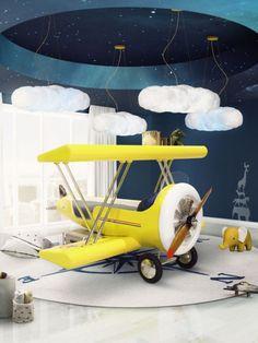 CIRCU - Lit en forme d'avion pour enfant - De chez Plane