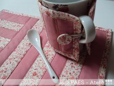 mug rugs | Moldes dos mug rugs que já fiz: AQUI e AQUI !!!