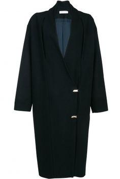 Coat / Schwarz / 36 (S, T1) EU / Baumwolle / Herbst - Winter