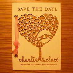 Save the Date via http://www.borisanddoris.co.uk/