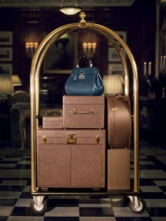 Let's go travel? #gucci! Um yes please!