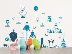 Sticker mural en vinyle FRIENDS II by Domestic | design TADO