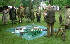 Rain will not stop the Home Guard - Osterley