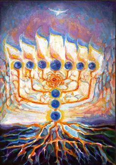 Judica Menorah Tree of Life