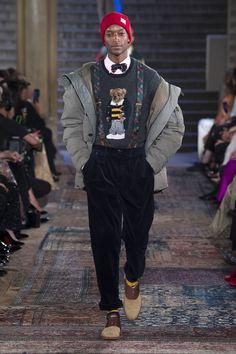 Male Fashion Trends: Ralph Lauren The Anniversary Show Male Fashion Trends, Men Fashion Show, Fashion Week, Mens Fashion, Fashion Fall, High Fashion, Fashion 2018, Fashion Brands, Ralph Lauren Shop