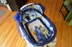 Star Wars Baby Bassinet: Because after your Star Wars wedding, there is a distinct possibility you will have a Star Wars baby!