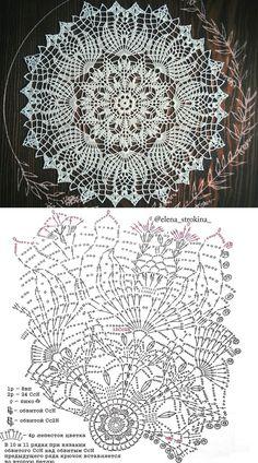 Ideas For Crochet Lace Top Pattern Doilies Doilies Crafts, Lace Doilies, Crochet Doilies, Crochet Lace, Free Crochet Doily Patterns, Crochet Doily Diagram, Knitting Patterns, Crochet Tablecloth Pattern, Thread Crochet