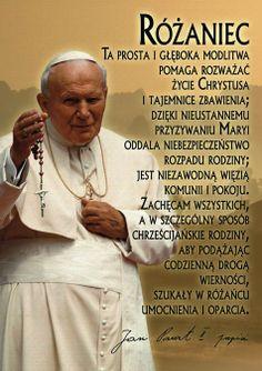 >>Modlitwa różańcowa jest modlitwą człowieka za człowieka; jest modlitwą ludzkiej solidarności, modlitwą wspólną odkupionych, która odbija w sobie ducha i intencje pierwszej z odkupionych, Maryi, Matki i obrazu Kościoła; jest modlitwą za wszystkich ludzi świata i historii, żywych i umarłych, powołanych do tworzenia wraz z nami Ciała Chrystusa i do stania się wraz z Nim współdziedzicami chwały Ojca.<< --- Jan Paweł II Music Humor, World Of Color, Motto, Good Vibes, Christianity, Coaching, Prayers, Faith, God