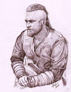''Vikings'' Ragnar Lothbrok by DafnaWinchester.deviantart.com on @DeviantArt