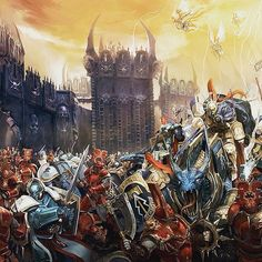 Well of Eternity: Artworks from Warhammer Age of Sigmar III Warhammer Aos, Warhammer Fantasy, Warhammer 40000, Stormcast Eternals, Age Of Sigmar, The Grim, Starcraft, Fantasy Artwork, Old World