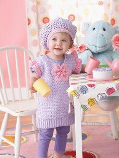 Daisy Tunic Set | Free Crochet Patterns | Yarnspirations