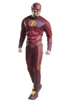 Genial Adult Deluxe The Flash Costume