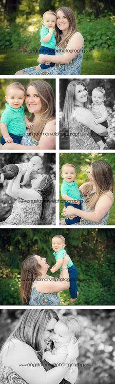 Mommy and Me photo session  Angela Marvel Photography | Tacoma Newborn, Baby, Child and Family Photographer