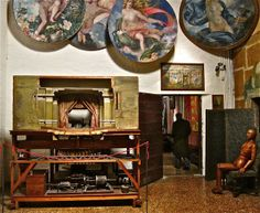 Fortuny Stage design invention  Palazzo Fortuny  Museum - Venice
