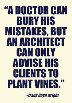 A quote on architecture...