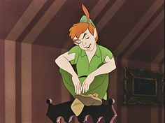 """Girls talk too much,"" says Peter Pan, and so says my husband!!"