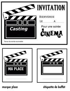Movie Theater Party, Cinema Party, Movie Night Party, Family Movie Night, Deco Theme Cinema, Movie Clipart, Hollywood Theme, Movie Themes, Star Party