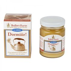 Grog Sommeil Dormiiir Ballot-Flurin Grog, Camomille Romaine, Propolis, Nutella, Agriculture Biologique, Desserts, Products, Tailgate Desserts, Deserts