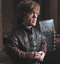 My favorite character on the show,Tyrion Lannister,love this guy!