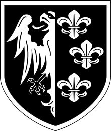 Waffen Grenadier Division of the SS Charlemagne French) - Wikipedia Military Insignia, Military Art, Logo Google, Division, Army Patches, Nordic Tattoo, German Army, Luftwaffe, Coat Of Arms