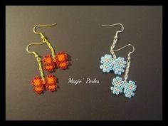 Boucles d'oreilles petits noeuds  : Perles par magic-perles sur ALittleMarket