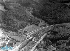 arkiv.dk | Luftfoto af Grejsdalen, Vejle, 1932