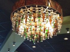 This chandelier was at a mexican restaurant in Florida's airport.  Thanks to Nate and Shasta's wedding!!!