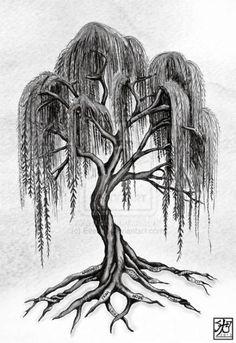 21 Ideas Willow Tree Tattoo Back Tatoo For 2019 Tree Tattoo Side, Tree Sleeve Tattoo, Side Tattoos, Sleeve Tattoos, Tree Back Tattoos, Tree Tattoo With Roots, Tree With Roots Drawing, Branch Tattoo, Life Tree Tattoo