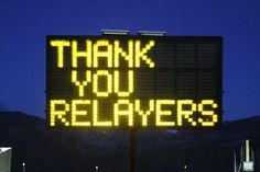 Use this image on FB to thank all the Relayers post-event. #relayforlife #googlesearch
