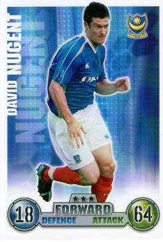 2007-08 Topps Premier League Match Attax #238 David Nugent Front