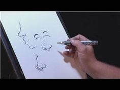 ▶ Drawing & Caricature Art : How to Draw Noses in Caricatures - YouTube
