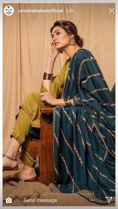 Bridal Pakistani Dresses Colour Ideas Source by clothes pakistani Pakistani Fashion Casual, Pakistani Dresses Casual, Pakistani Dress Design, Pakistani Bridal Dresses, Indian Fashion, Indian Attire, Indian Ethnic Wear, Indian Outfits, Indian Designer Suits
