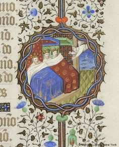 Book of Hours, MS M.359 fol. 36r - Images from Medieval and Renaissance Manuscripts - The Morgan Library & Museum