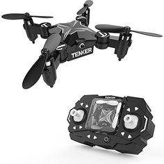 TENKER Skyracer Mini RC Helicopter Drone for kids Quadcopte with Altitude Hold Flips and Headless Mode One key take off/landing good choice for Beginners Best Remote Control Helicopter, Remote Control Drone, Rc Helicopter, Radio Control, Rc Drone, Drone Quadcopter, 3d Mode, Flying Drones, Drone For Sale