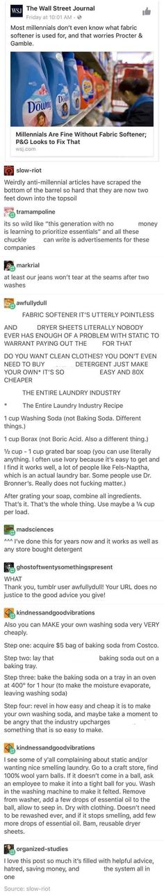 Making your own laundry detergent