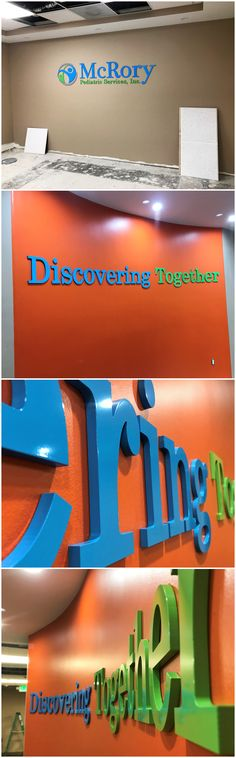 A new building calls for new signage! Check out the interior signs we made for McRory Pediatric's new Santa Clarita location. #signage #logosigns #lobbysigns #signs #mcrorypediatricservices #mcrorypediatrics #santaclarita #customsigns #indoorsigns #interiorsigns #interior #logo #resource4signs #signcompany #signshop #chatsworthsigncompany #losangelessigncompany #logosignage #lobbysignage #indoorsignage #customsignage #signmakers #interiorsignage #businesssigns #businesssignage #wallsigns Interior Logo, Sign Company, Santa Clarita, Business Signs, Shop Signs, Pediatrics, Wall Signs, High Quality Images, Signage