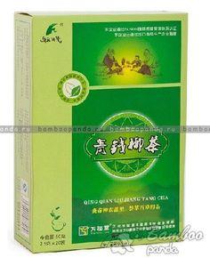 Китайский чай от сахарного диабета Цинцяньлю Qing Qian Liu Jiang Tang Cha