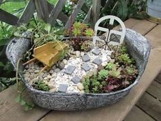 Image result for fairy garden ideas
