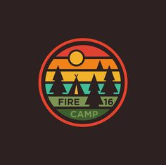 Fire Camp 16 on Behance